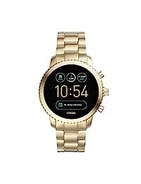 Fossil- Smartwatch Digital, para hombre, Dorado,FTW4010
