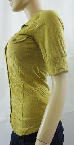 NEXT citron vert-Chemise boutonnée à manches courtes haut-UK 10 (petites)