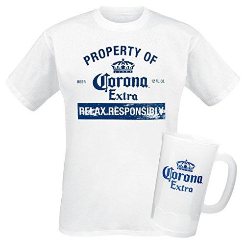 Property Corona Cerveza Distressed Tshirt