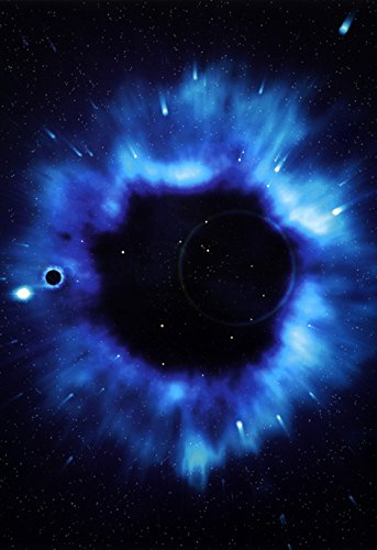 Black Hole Poster, Blackhole, Space, Galaxy, Universe, Sun, Moon, Stars, Milky Way