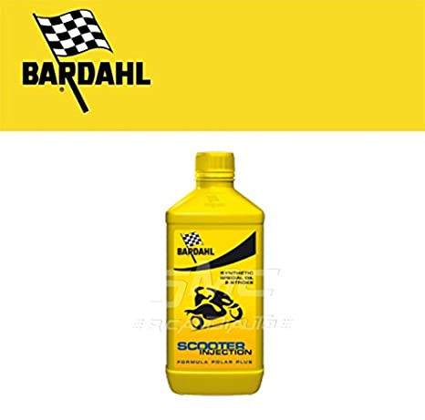 Aceite Moto 2 tiempos scooter Injection Bardahl 2 L - 201140: Amazon.es: Coche y moto