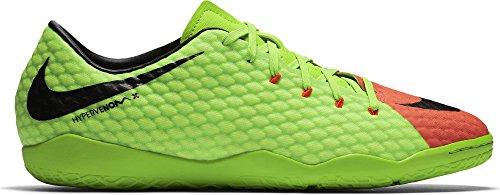 Uomo Nike Hypervenomx Phelon Iii Scarpe Da Calcio Ic Verde (elctrc Verde / Nero-arancio Iper-volt)