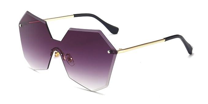 KINDOYO Gafas de sol de gran tamaño para mujer, gafas de ...