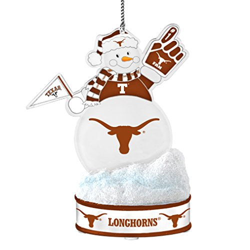 Texas Longhorns Ornaments - NCAA Texas Longhorns LED Snowman Ornament