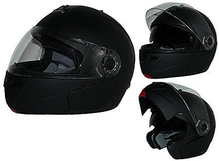Klapphelm H910 glanz - neongelb mit integrierter Sonnenblende - L protectWEAR H910-NEO-L