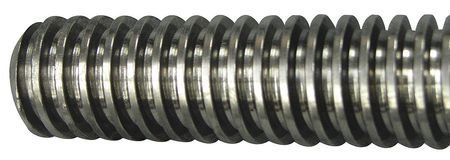 Acme Threaded Nuts - Threaded Rod, Low Carbon Steel, 1-5x6 ft