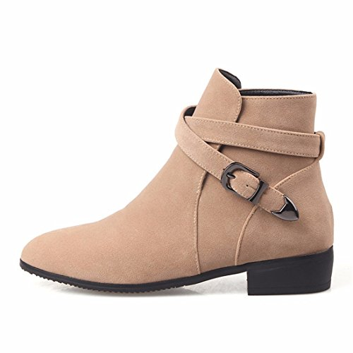 A a square pointed apricot short a a heel big yard boot low xXrXnBqfg