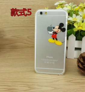 Vigend® Mickey mouse IPHONE 6plus CASE iphone6 plus iphone 6 plus case 5.5' hand 04506