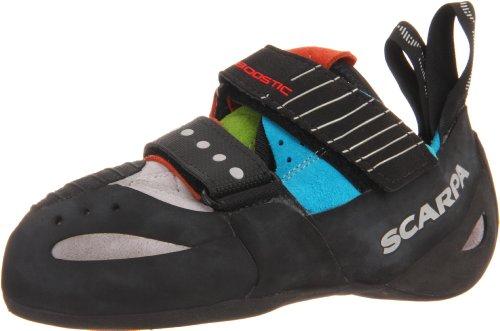 Climbing Shoe Spring (Scarpa Boostic Climbing Shoe,Cyan/Spring,41.5 EU/Men's 8.5 M US/Women's 9.5 M US)
