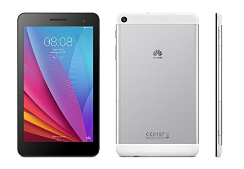 Huawei MediaPad T1 7.0 Quad Core 7'' Android (KitKat) +EMUI Tablet 8GB, Silver/Black (US Warranty) by Huawei (Image #1)