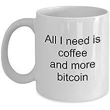 Bitcoin Coffee Mug - Bitcoin Gag Gifts For Investor - Bitcoin Related Gifts - 11Oz White Ceramic Coffee Mug