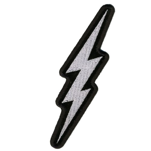 Hot Leathers Lightening Bolt Patch (2