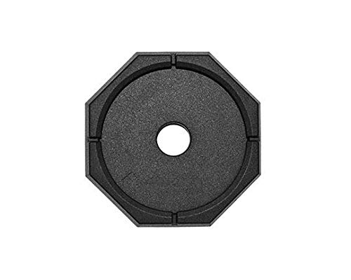 RV SnapPad Permanently Attached Leveling Jack Pad for 11.5 inch Round Metal Feet (HiWay Bus 11.5 Single (Qty 1)) by Origen RV Accessories