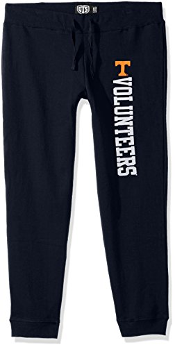 NCAA Tennessee Volunteers Women's Ots Fleece Pants, Large, Fall Navy