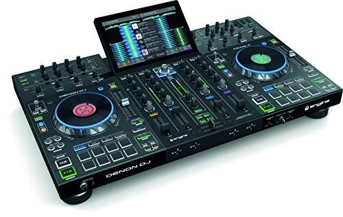 (Denon DJ Prime 4 |4-Deck Standalone DJ System)
