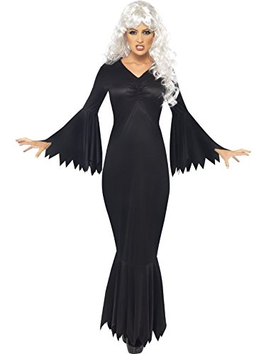 Guilty Pleasures Women's Halloween Midnight Vamp Fancy Dres Outfit Women: 20-22 Black]()