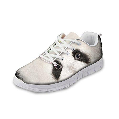 Panda Casual Sneakers Eyes IDEA Lightweight Men's Shoes Black Sports Design Rnnning EU35 Fashion HUGS zfOqa