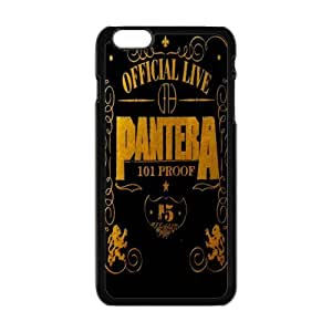 "Rock Band Style BlackIphone 6 Plus 5.5"" Pantera For Iphone 6 Plus 5.5 Inch"
