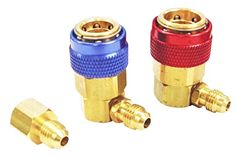 Wilk R-12 to R-134a Conversion Quick Connect Coupler Tank Adapter Set (R134a Tank Adapter)