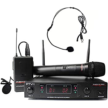 radioshack wireless lapel microphone system 32 1257 musical instruments. Black Bedroom Furniture Sets. Home Design Ideas