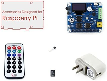 Waveshare Accessories Pack B Supports Raspberry Pi A+ / B+ /2 ...