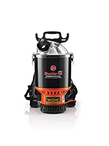 Hoover Commercial Vacuum Cleaner Shoulder Vac Pro Bagless Corded Lightweight Backpack Vacuum C2401