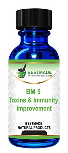 Toxins Cleanse (Bm5) a Strong , but Gentle Formula to Clear Out Toxins and Improve Health