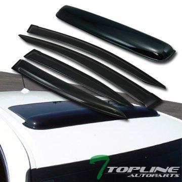 02 rain visors with sunroof visor - 4