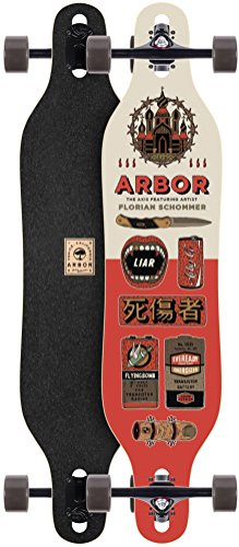 Arbor Axis AC 2017 Complete Artist Collection Longboard New (Arbor Longboard Snowboard)