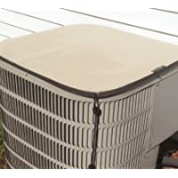 Clearance - 50% OFF - Heavy duty waterproof air conditioner cover - PREMIER Winter Top - 24x24 - Almond