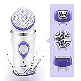 Best Epilators - Flend Women's Epilator Electric Rechargeable, Wet & Dry Review