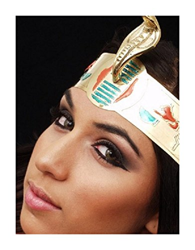 Cleopatra Costume Egyptian Crown - ONE SIZE -