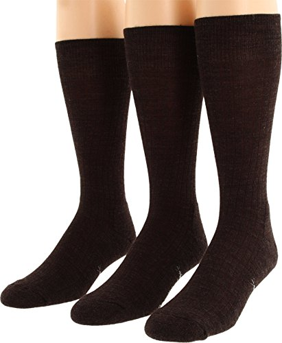 Smartwool  Men's New Classic Rib 3-Pair Pack Chestnut Medium (Classic Rib Sock Smartwool)