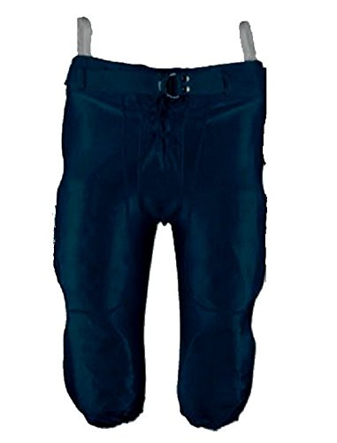 New Martin Slotted Football Dazzle Finish Game PANTS 100% Poly S-3XL Adult Navy (AXL)