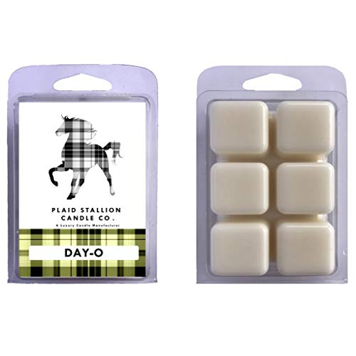 The Plaid Stallion (2 Pack) Scented Wax Melts Clamshells, Day O - Banana, Vanilla, Fruity, Sugar, Pie Scented