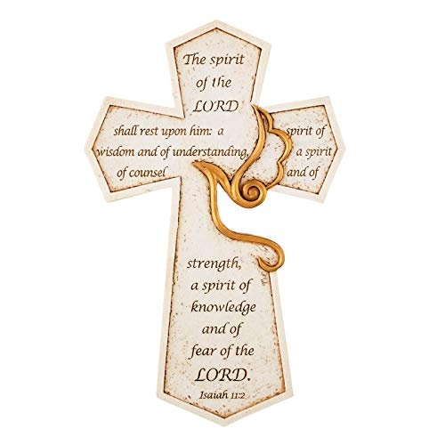 US Gifts Confirmation Holy Spirit Cross - 2/pk