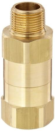 "Dixon SCVR6 Brass Safety Check Valve, 3/4"" NPT male x NPT Female"