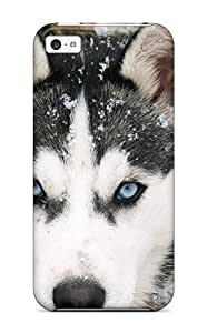 New Arrival Iphone 5c Case Siberian Wolf Case Cover