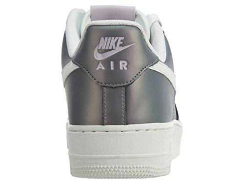 Nike Mens Air Force 1 07 Lv8 Scarpe Da Basket Ghiacciato Lilla / Sommità Bianco-nero