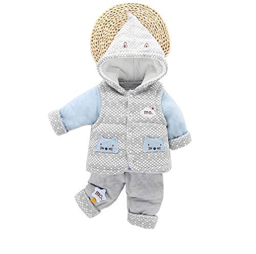 f8f6014fc5880  えみり  ベビー服 赤ちゃん ジャケット ベスト パンツ 3点セット パーカー 男の子 女の子 子供服