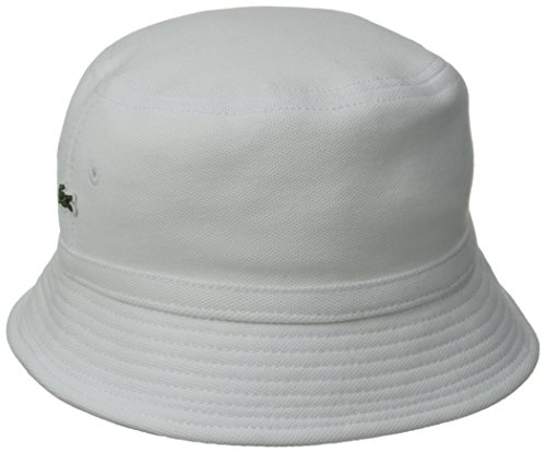 Lacoste Men s Cotton Pique Bucket Hat at Amazon Men s Clothing store  eda607f3aa69