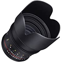Samyang Cine DS SYDS50M-C 50mm T1.5 AS IF UMC Full Frame Cine Lens for Canon EF - Fixed