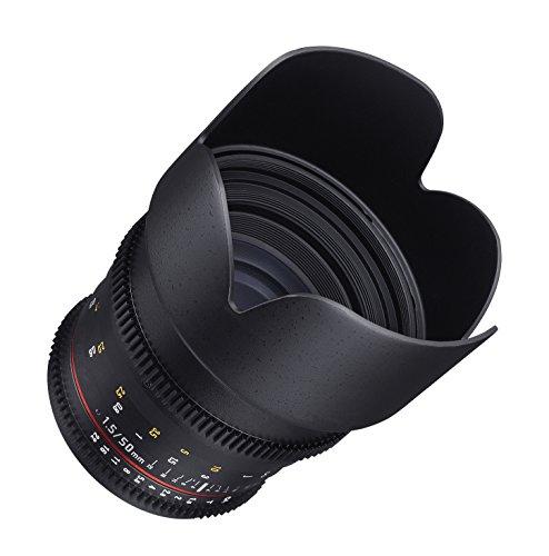 Samyang Cine DS SYDS50M-NEX 50mm T1.5 AS IF UMC Full Frame Cine Wide Angle Lens for Sony E