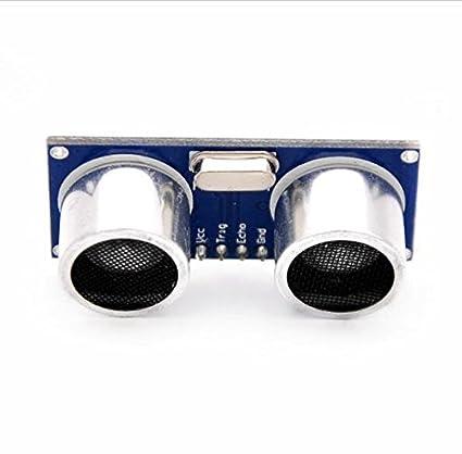 Amazon com: Ultrasonic Module HC-SR04 Distance Measuring Transducer