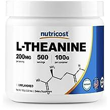 Nutricost Pure L-Theanine Powder 100 Grams