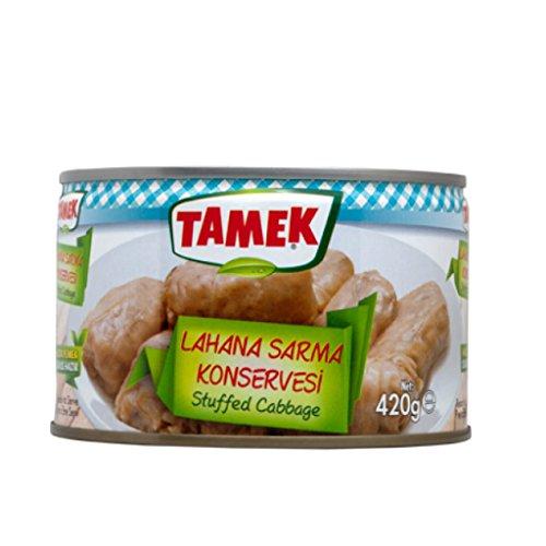 Tamek Stuffed Cabbage Lahana Sarma Konsevesi 400g