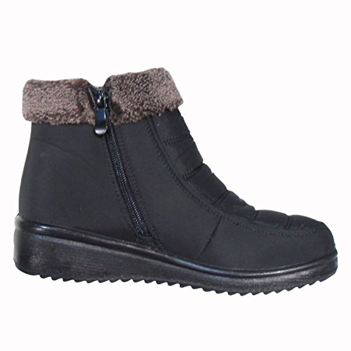 TravelNut Quilted Assorted Colors Black Bootie Sale Insulated Tommy Snow For Spring With Zipper Short Boot Women wRqHtRr
