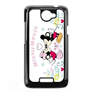 minnie mouse HTC One X Cell Phone Case Black JN00K207