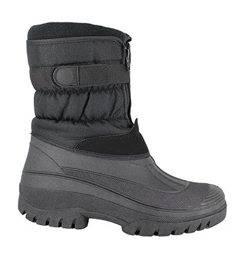 Groundwork (LS87)- Botas de esquí para mujer con forro, tallas 36 - 41 negro