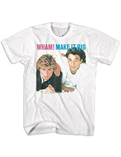 American Classics Wham Make It Big Michael & Ridgeley T-Shirt Officially Licensed